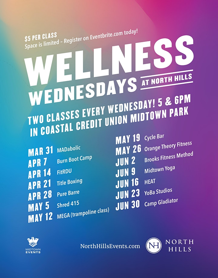 Wellness Wednesday - Spring Series 2021 image