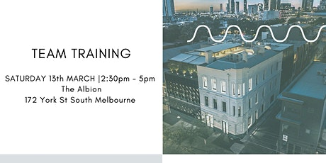 Freestyle Team Training Melbourne tickets