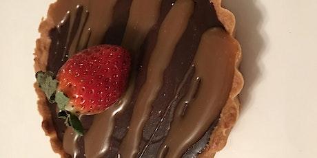 Annie's Signature Sweets Virtual Chocolate bourbon caramel tart class tickets