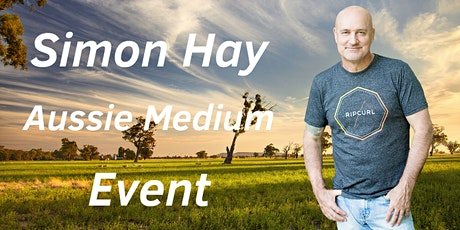 Aussie medium, Simon Hay at The Orange City Bowling Club tickets