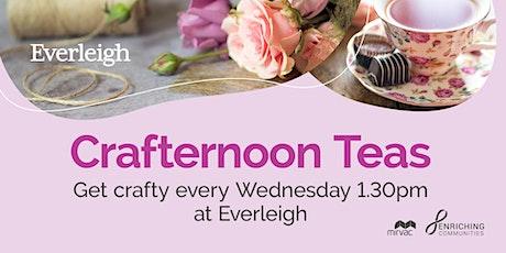 Crafternoon Tea tickets