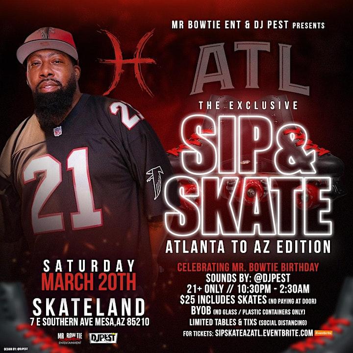 Sip & Skate - Bowtie ATL Bday Bash image