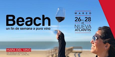 Mapa del vino beach entradas
