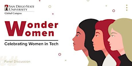 Wonder Women: Celebrating Women in Tech | Panel tickets
