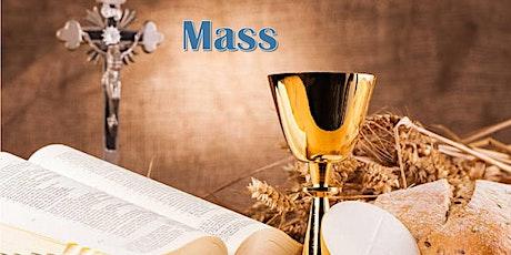 Tuesday 2nd March 2021 Mass tickets