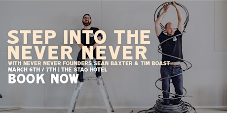 Step into the Never Never //  Gin Tasting Experience with the Founders tickets