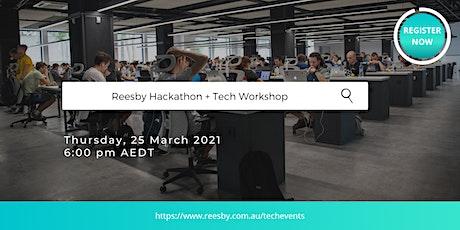 Reesby Hackathon + Tech Workshop entradas