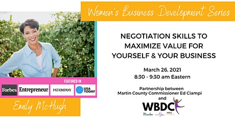 Negotiation Skills to Maximize Value for Yourself & Your Business tickets