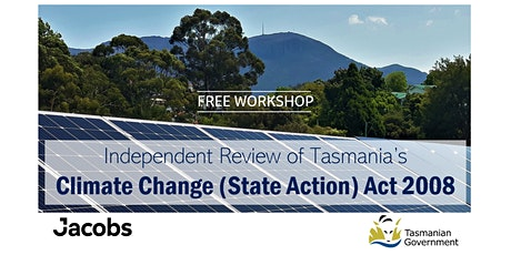 Independent Review of Tasmania's Climate Change (State Action) Act 2008 tickets