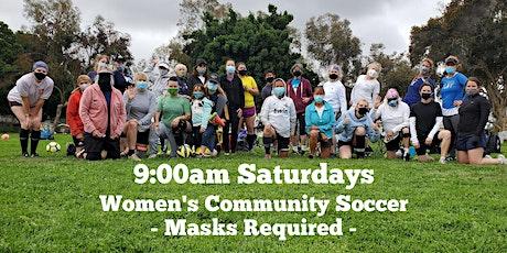 9am Soccer Women Training SATURDAYS (Masks + Distancing) tickets
