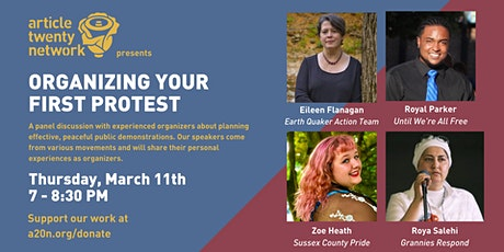 Organizing Your First Protest tickets