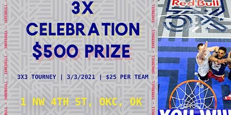 3X Celebration tickets