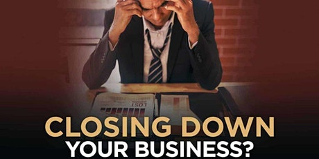 Closing down your business – what you need to know tickets
