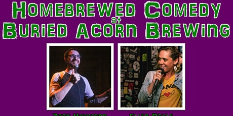 Homebrewed Comedy at Buried Acorn Brewing Company tickets