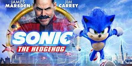 Outdoor Cinema Night screening Sonic the Hedgehog tickets