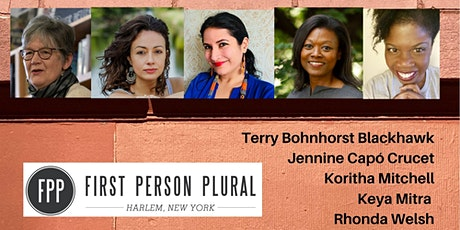 First Person Plural Reading Series - Virtual - March 7, 2021 tickets