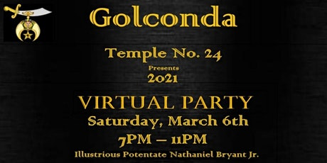 GOLCONDA No.24 2021 Virtual  Party tickets