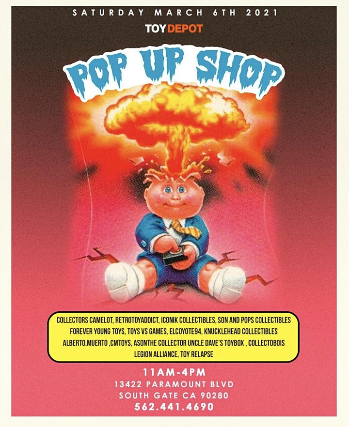 Toy Depot's  POP UP SHOP!! image