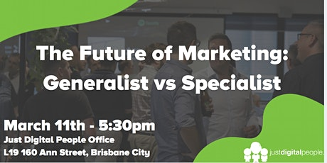 The Future of Marketing: Generalist vs Specialist tickets