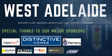 West Adelaide Soccer Club I Season Launch 2021 tickets
