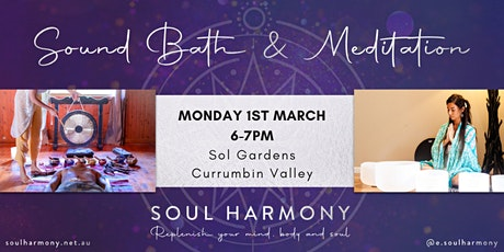Sound Bath & Meditation in Currumbin Valley tickets