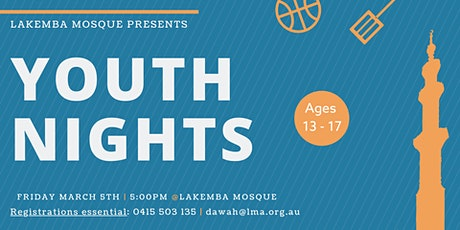 Youth Nights at Lakemba Mosque tickets