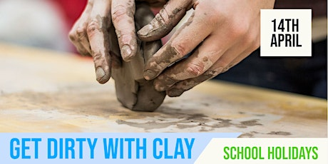 SCHOOL HOLIDAYS | Getting Dirty with Clay | Mitchell Park tickets