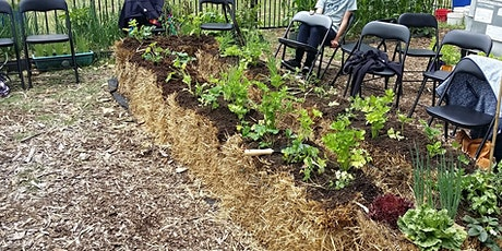 Straw Bale Gardening Workshop for Positive Mental Health tickets