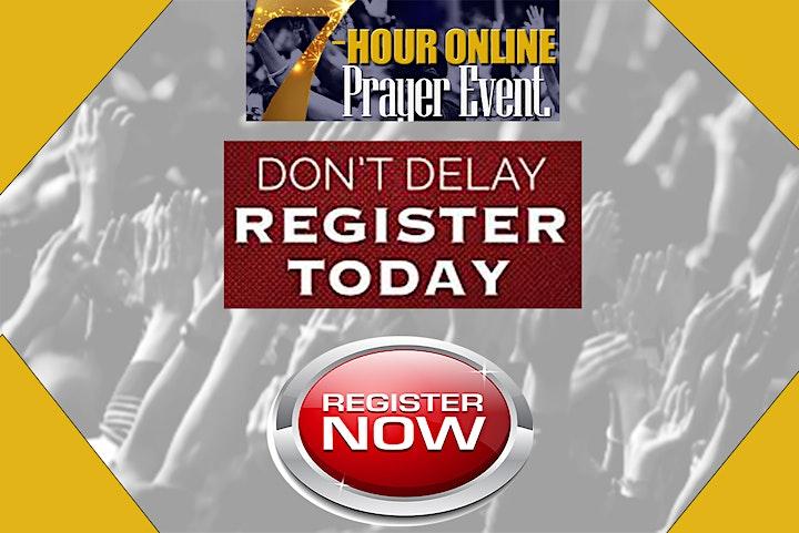 TuesdayWorld  7-Hour Online Prayer Event image