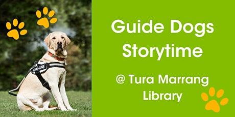 Guide Dogs Day @ Tura Marrang Library tickets