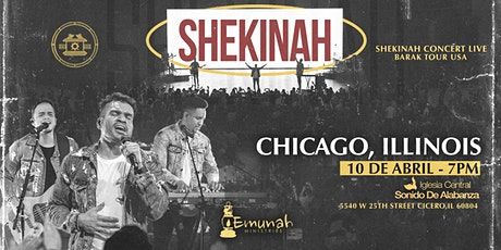 SHEKINAH CONCERT LIVE CHICAGO 2021 tickets