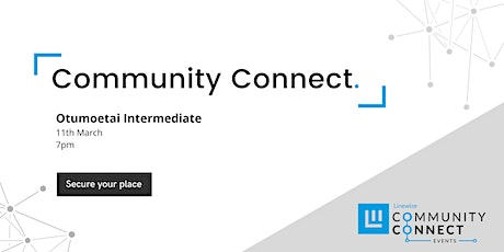 Otumoetai Community Connect Event - Presented by Linewize tickets