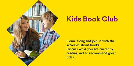 Kids Book Club @ Burnie Library tickets