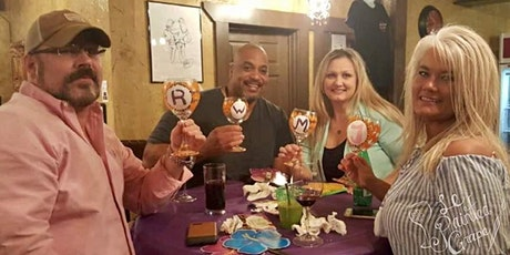 Wine Glass Painting Class at Maggie Meyers Irish Pub 4/16/21 @ 6pm tickets
