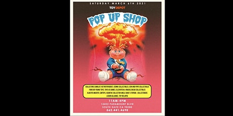 Toy Depot's  POP UP SHOP!! tickets