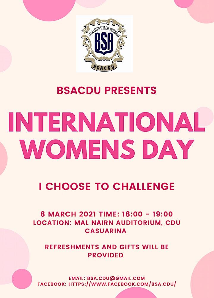 INTERNATIONAL WOMEN'S DAY image