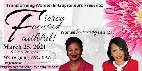Transforming Women Entrepreneurs (TWE) Virtual Edition tickets