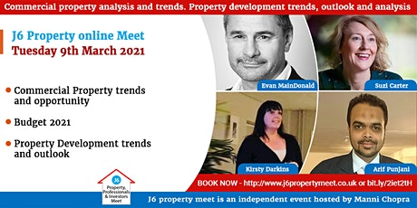 Residential and Commercial property trends, outlook and opportunities 2021 tickets
