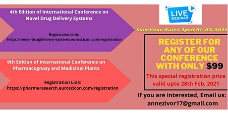 Pharma Conferences and Drug Conferences tickets