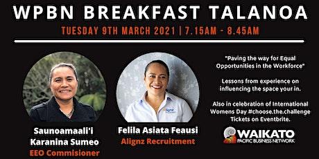 WPBN Breakfast Talanoa tickets