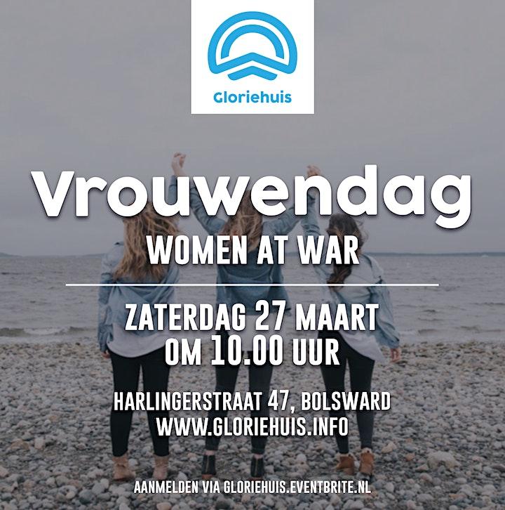 Afbeelding van Gloriehuis - Vrouwendag - Women at war