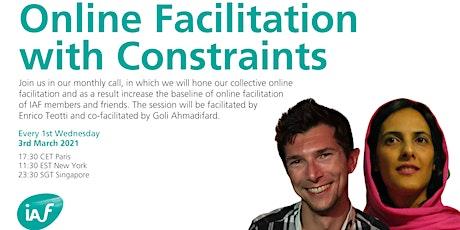 IAF Online Facilitation Satellite #2 billets