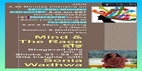 Insights from Gita with Sonia Wadhwa tickets