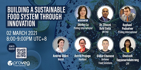 Building a sustainable food system through innovation tickets