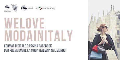 WE LOVE MODA IN ITALY tickets
