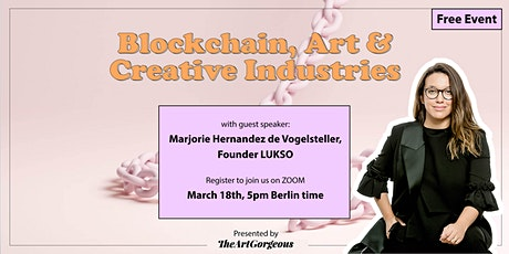 Blockchain and Creative Industries Tickets