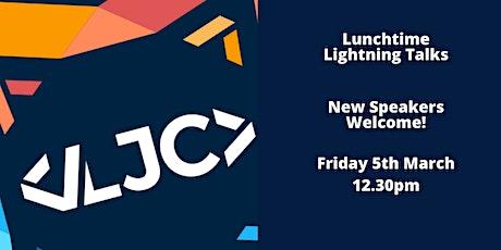 LJC Lunchtime Lightning Talks tickets