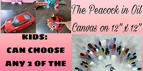 Mamma Canvas Painting and Kids Craft Making Worksh tickets