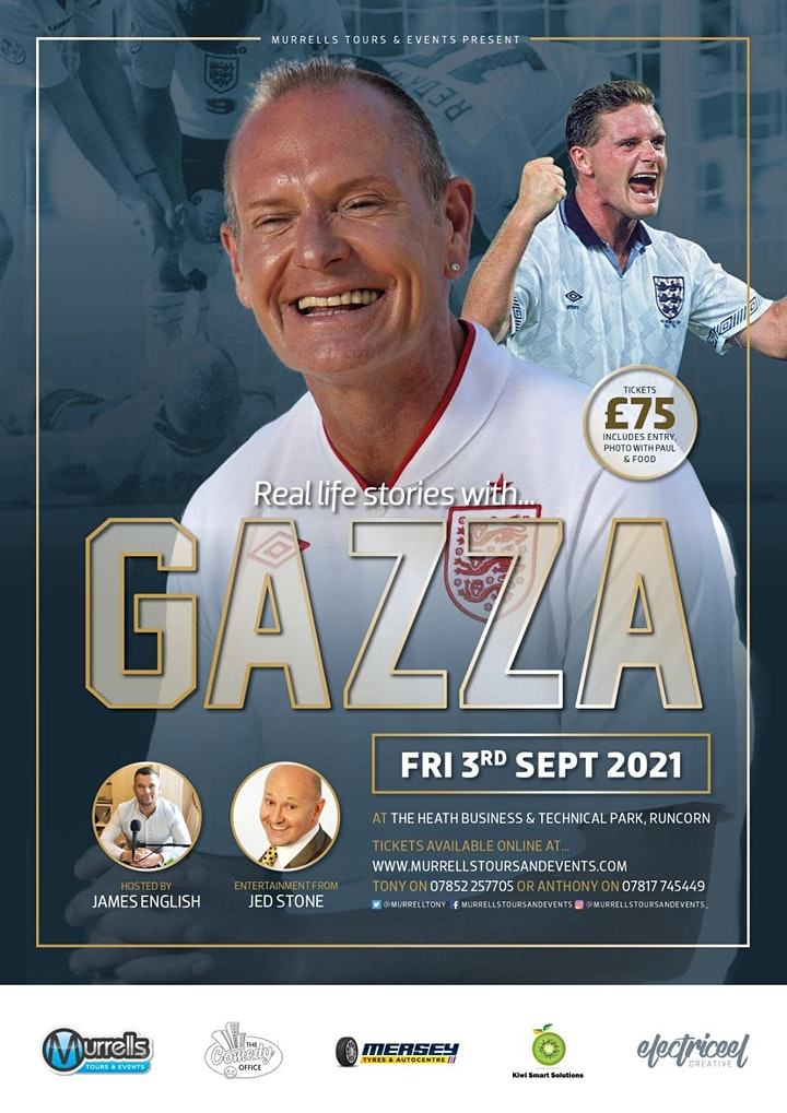 Real Life Stories with - GAZZA image
