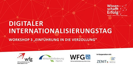 Digitaler Internationalisierungstag -  Einführung Verzollung Tickets